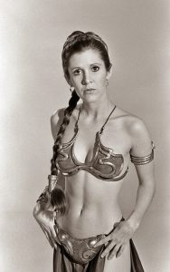 Carrie Fisher Star Wars Slave Leia bikini
