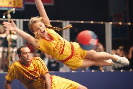 Christine Taylor Vince Vaughn Dodgeball
