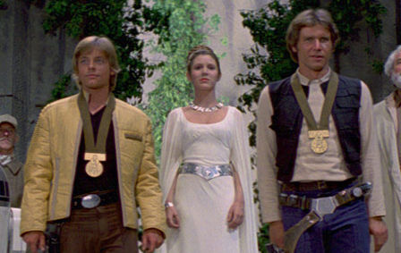 The Return of Ford, Fisher and Hamill in Episode VII