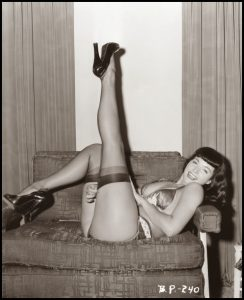 Bettie Page Reveals All documetnary 2012 pinup sexy legs