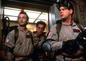 Bill Murray Harold Ramis Dan Aykroyd Ghostbusters 1984 comedy classic
