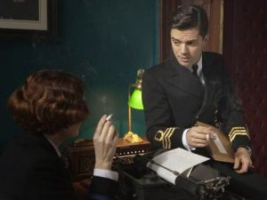Fleming Dominic Cooper Anna Chancellor Moneypenny