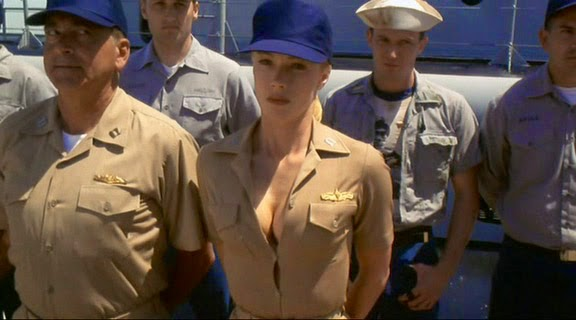 Lauren Holly Down Periscope 1996 boobs cleavage