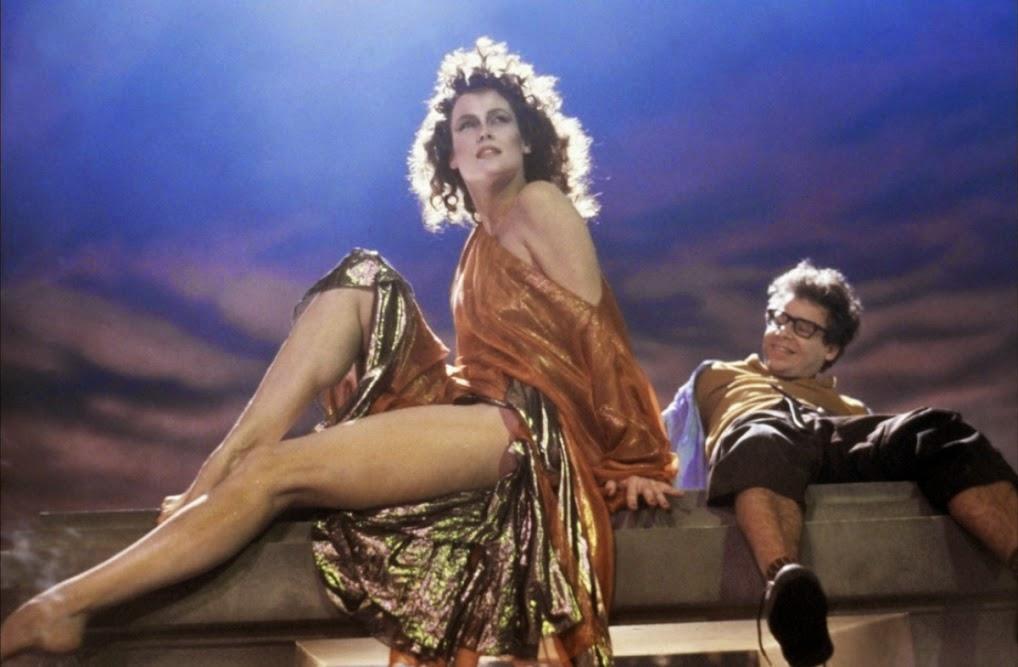 Sigourney Weaver sexy Rick Moranis Ghostbusters 1984 comedy