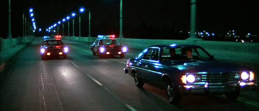 The Driver car chase 1978