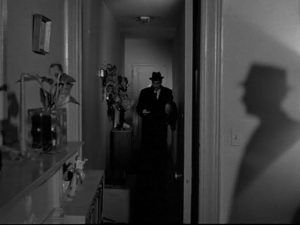Blast of Silence silhouette murder New York