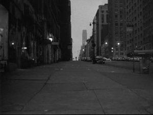 Blast of Silence 1961 street shot New York