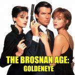 GoldenEye 1995 Pierce Brosnan James Bond Famke Janssen Izabella Scorupco