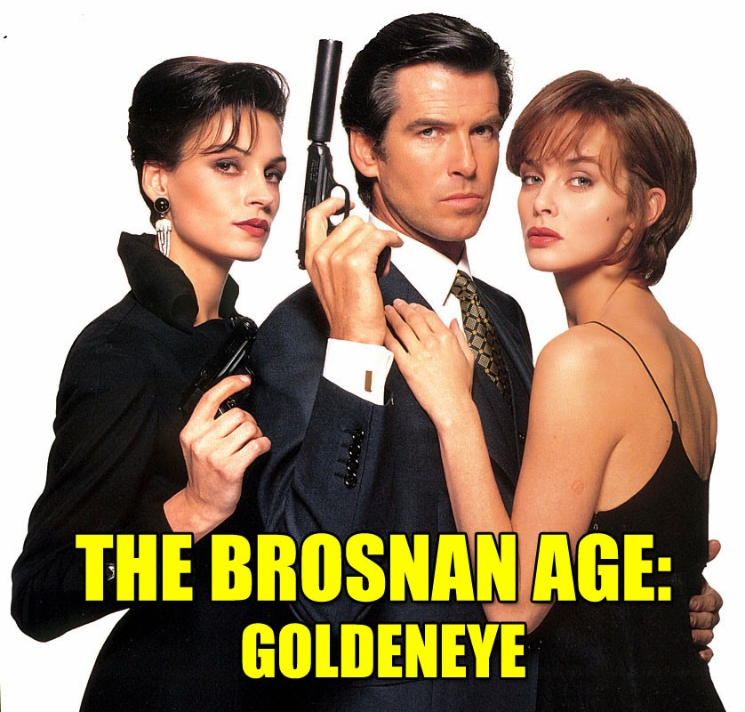 GoldenEye 1995 Pierce Brosnan James Bond Famke Janssen Izabella Scorupco