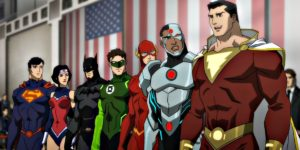 Justice League War animated movie