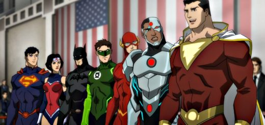 Justice League War animated movie