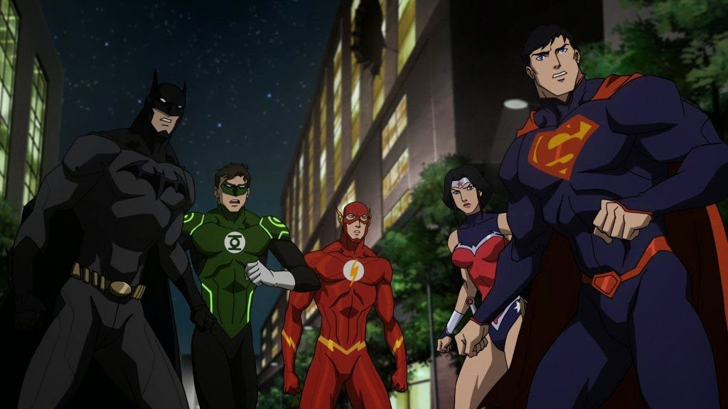 Justice League War movie DC new 52