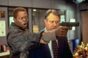 Samuel L Jackson JT Walsh The Negotiator 1998