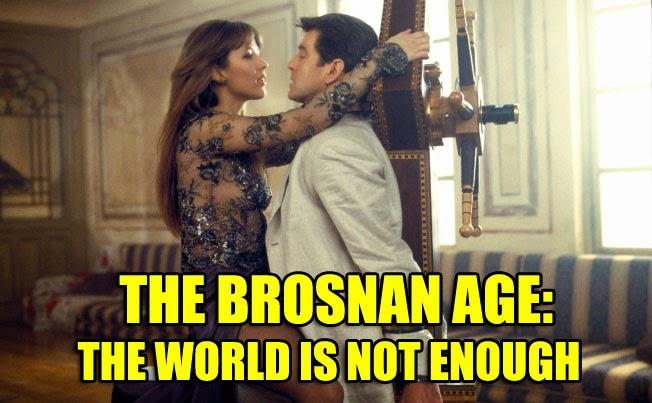 The World Is Not Enough 1999 Pierce Brosnan Sophie Marceau James Bond movie