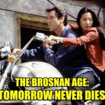 Tomorrow Never Dies 1997 James Bond movie review