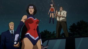 Wonder Woman Justice League War