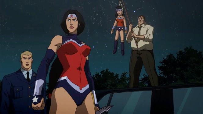 Wonder Woman Justice League War