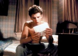 C Thomas Howell Secret Admirer 1985 love letter