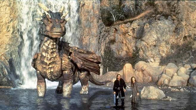 Dragonheart 1996 fantasy Draco Dennis Quaid Dina Meyer