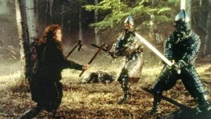 Dragonheart Dina Meyer sword fight