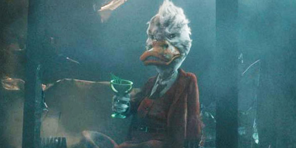 Howard Duck cameo Guardians of Galaxy
