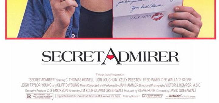 Secret Admirer 1985 poster