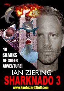 Sharknado 3 fan poster Die Hard sharks in flooded building PosterIan Ian Ziering