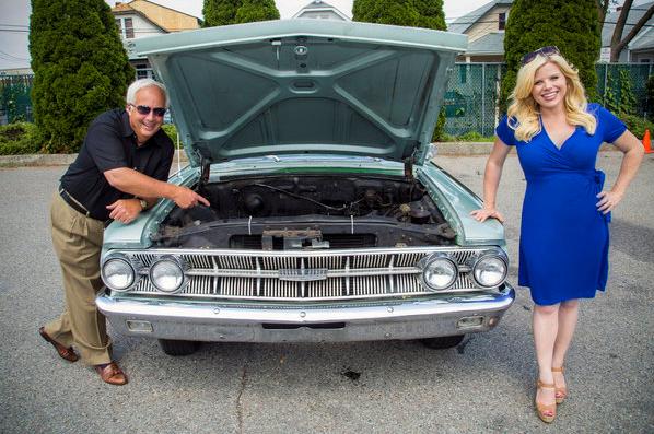 Candid Camera tv show joke gag car no engine