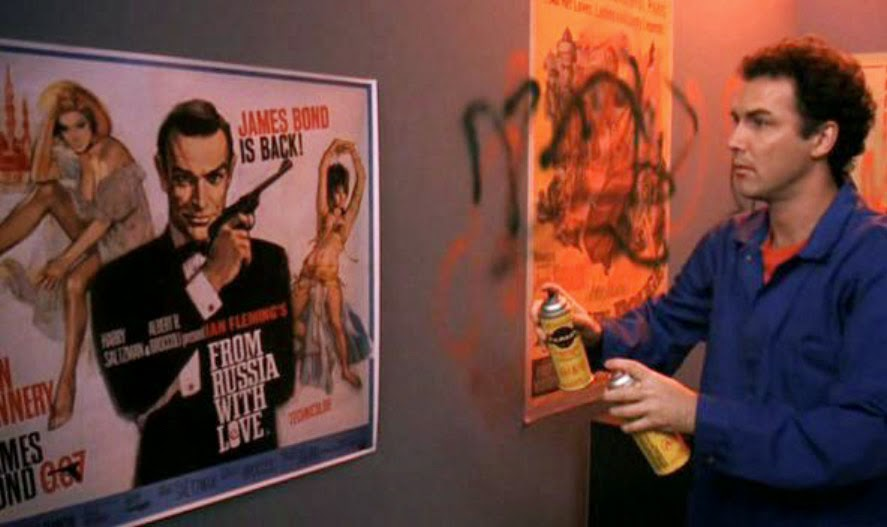 Dirty Work Norm MacDonald Sean Connery poster