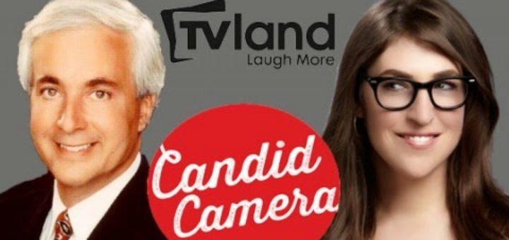 Candid Camera TV Land Peter Funt Mayim Bialik