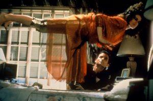 Ghostbusters Sigourney Weaver Dana floating