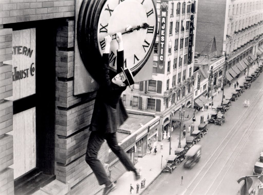 Harold Lloyd Safety Last 1923