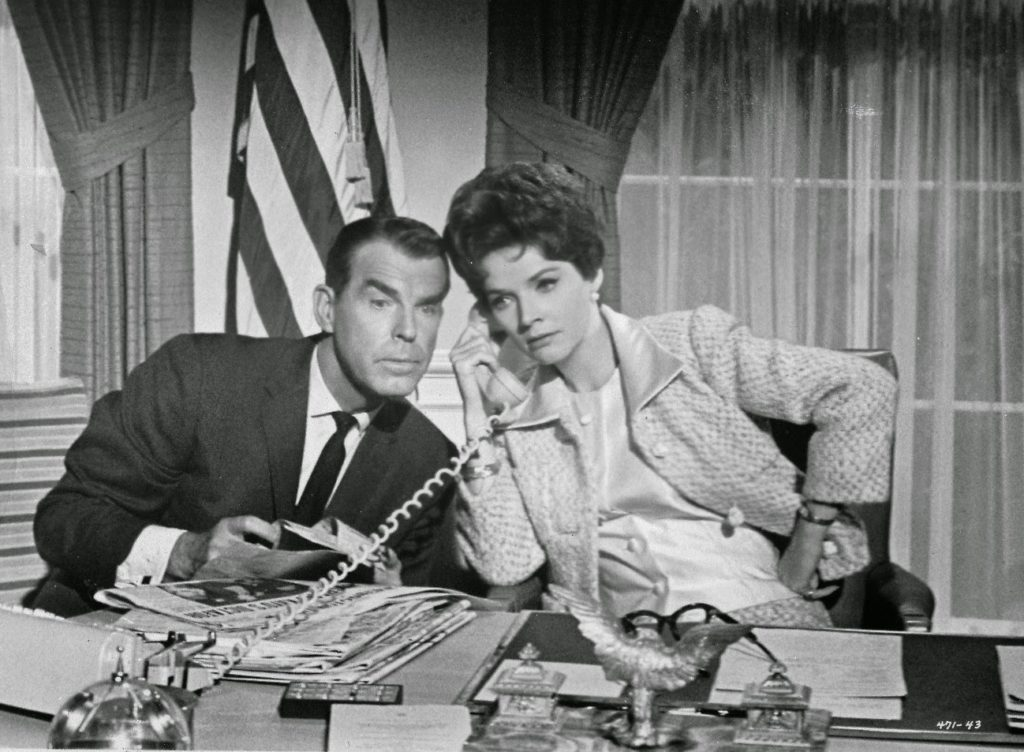 Kisses For My President 1964 Fred MacMurray Polly Bergen