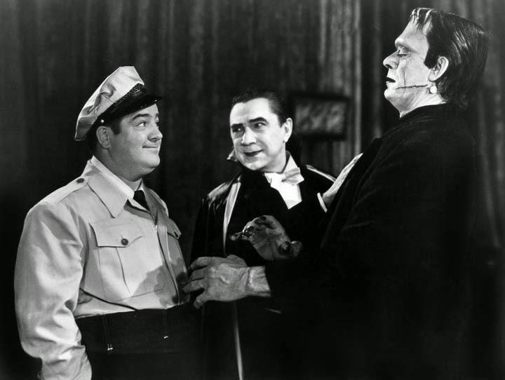 Lou Costello Dracula Frankenstein