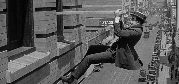 Safety Last 1923 silent comedy Harold Lloyd