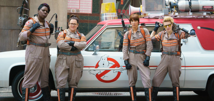 Ghostbusters 2016 remake reboot