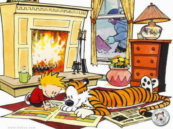Calvin and Hobbes Dear Mr. Watterson