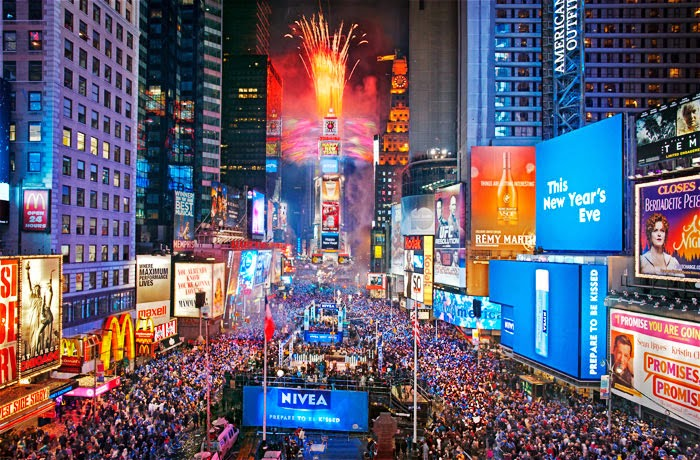New Years Eve Time Square Ball Drop