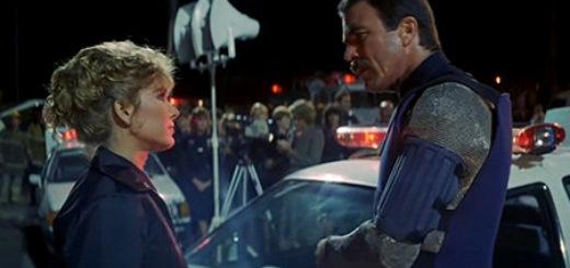 Runaway sci-fi movie Tom Selleck Cynthia Rhodes