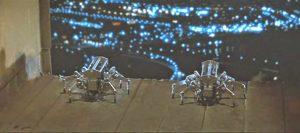 Runaway 1984 movie Spider Robots