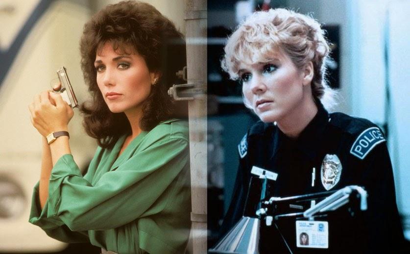 Sexy 1980s Cops Stefanie Kramer Cynthia Rhodes