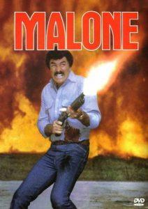 Burt Reynolds Malone 1987 gun vhs cover