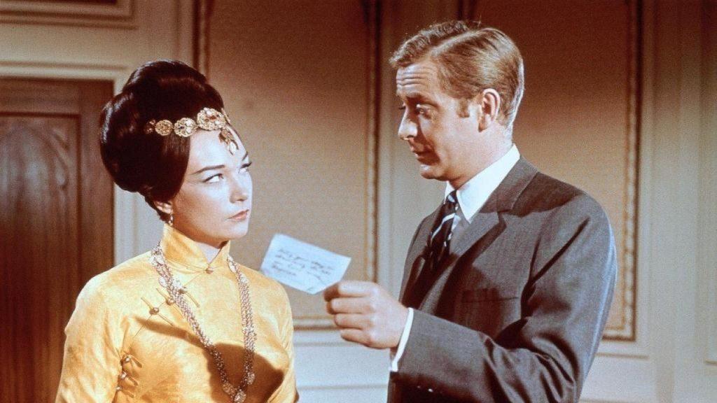 Gambit 1966 Michael Caine Shirley MacLaine