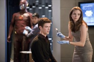 The Flash Grant Gustin Danielle Panabaker