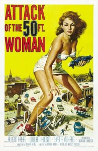 Attack of the 50 Foot Woman classic movie poster 1958