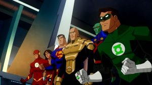 Justice League Crisis on Two Earths DC movie 2010