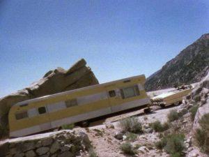 Long Long Trailer movie driving scene mountain