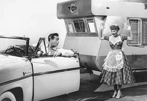 Lucille Ball Desi Arnez The Long Long Trailer 1953