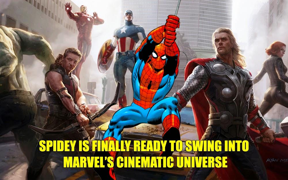 Spider-Man Marvel Cinematic Universe Sony