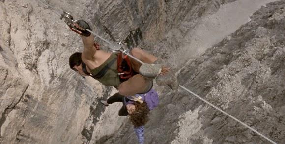 Cliffhanger 1993 Sylvester Stallone opening scene